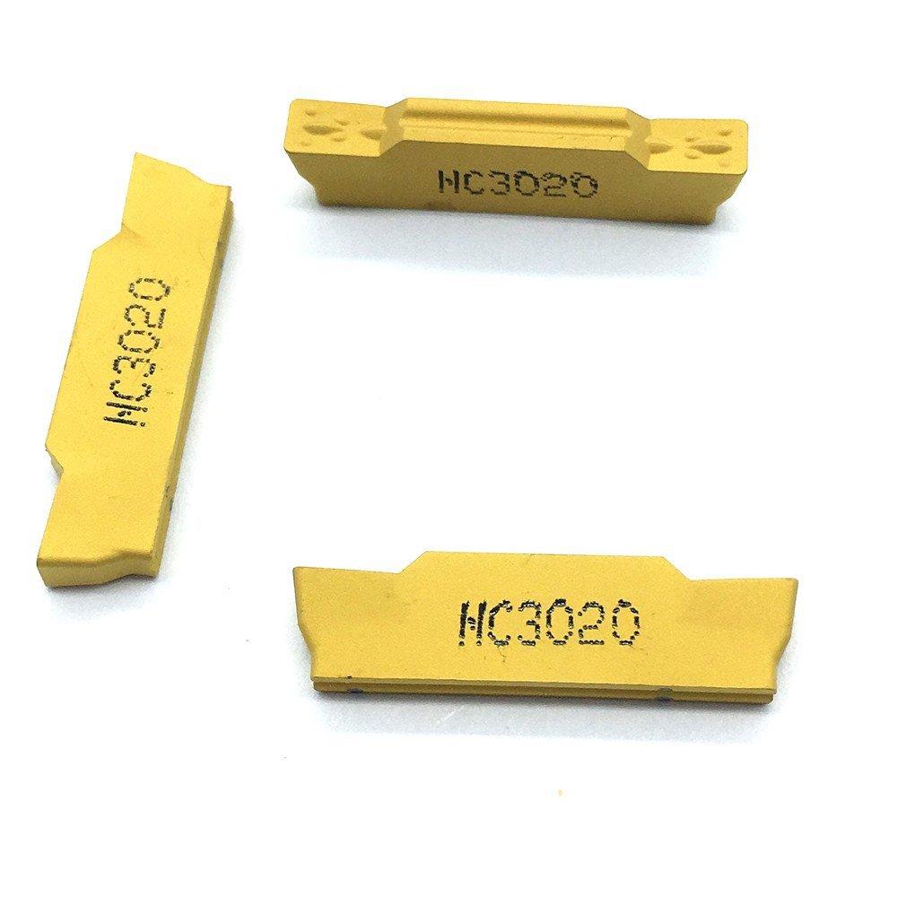 10pcs 1pack Gaobey MGMN300-M NC3020 Carbird Insertsing