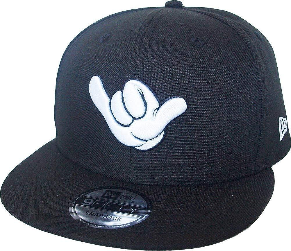 New Era Mickey Mouse Shaka Hand Black Snapback Cap 9fifty 950 Disney Basecap Limited Edition
