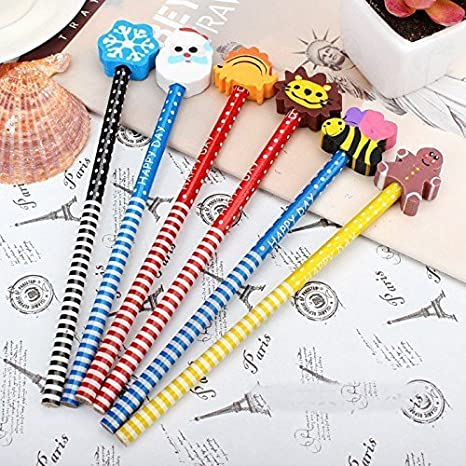 PARTEET Birthday Party Return Gifts Pencils With Eraser For Kids