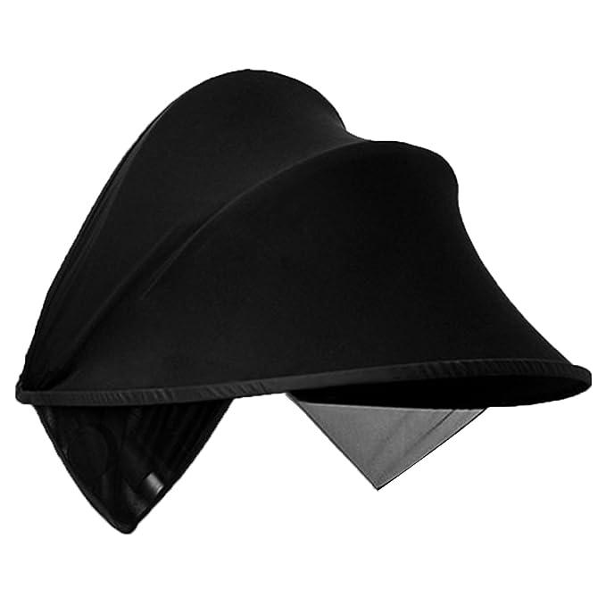 Original Dooky Hoody * UV+ Style ** Universal Hood//Sunshade/For Maxi-Cosi Car Seat Citi, Pebble, Cabriofix, Cabrio etc R/ömer Black Cybex and more