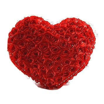 Creative Hochzeit Love Herz Rose Kissen Großer Plüsch