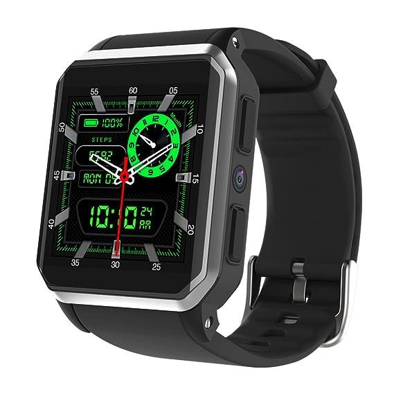 Amazon.com: BOND KW06 WIFI Smart Watch Android 5.1 QUAD CORE ...