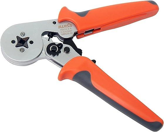 HSC  6-6 Crimper Pliers 0.25~6mm2 800pcs// Set Crimp Tools Tool Kit Connector