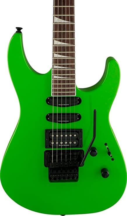 29fb18ebb6f Amazon.com  Jackson SL3X X Series Soloist - Slime Green  Musical ...