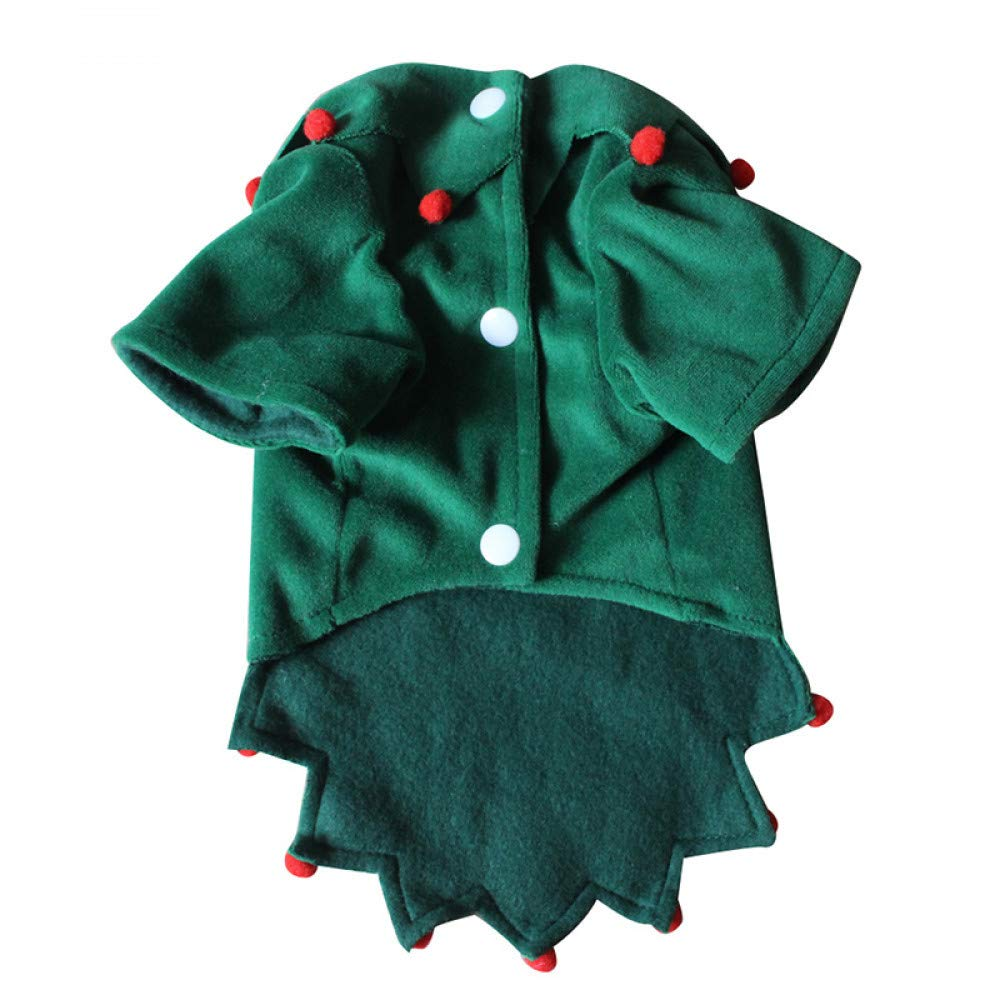 M BAONUAN Pet Clothes Funny Dog Cat Costumes Pet Christmas Wizard Cosplay Suit Halloween X'Mas Apparel Clothes For Dogs Costume For A Cat Size S-Xl,M