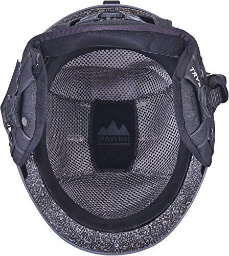Traverse Vigilis 2 in 1 Convertible Ski & Snowboard/Bike & Skate Helmet with Mini Visor