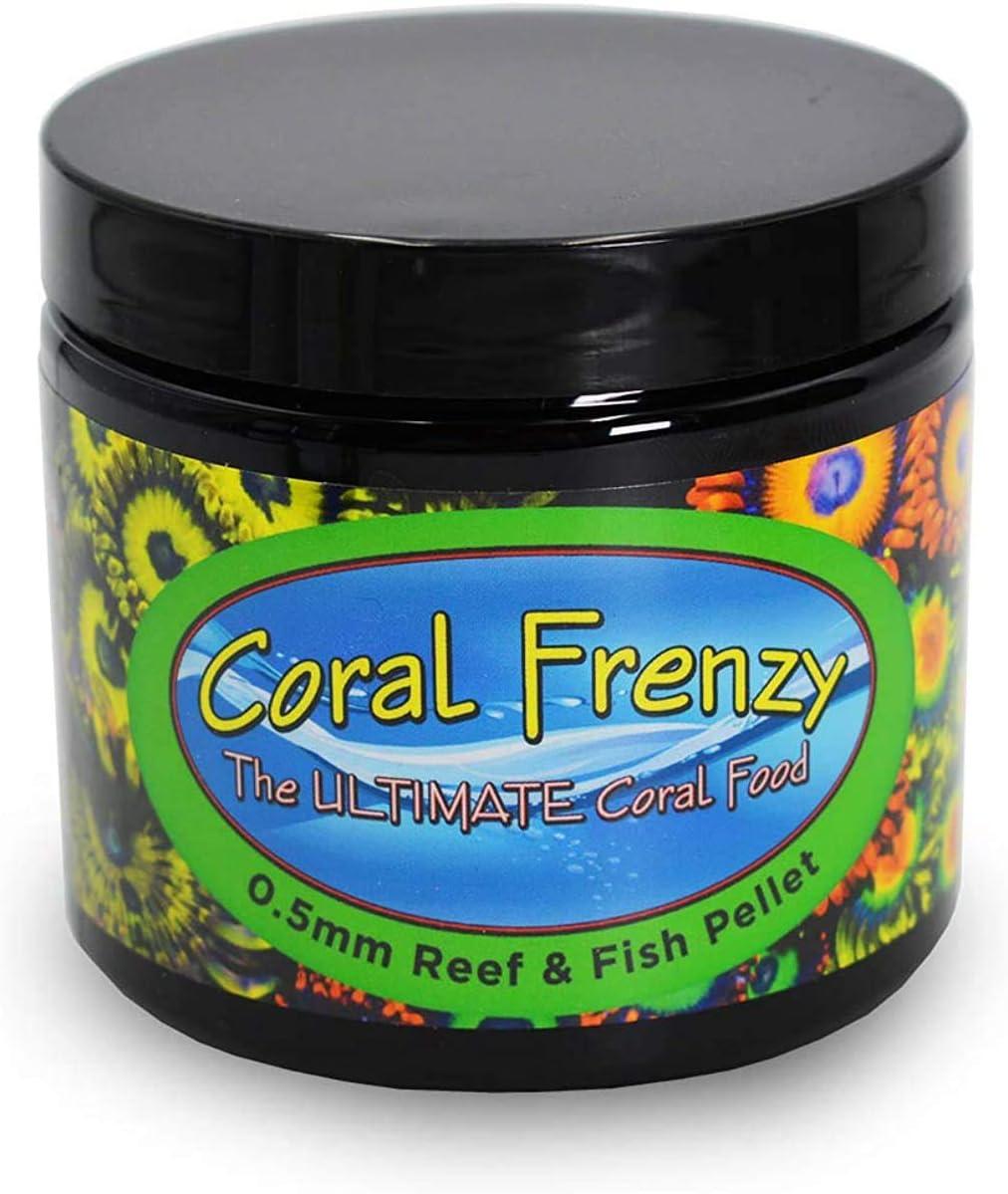 Coral Frenzy 0.5 mm Reef & Fish Pellet