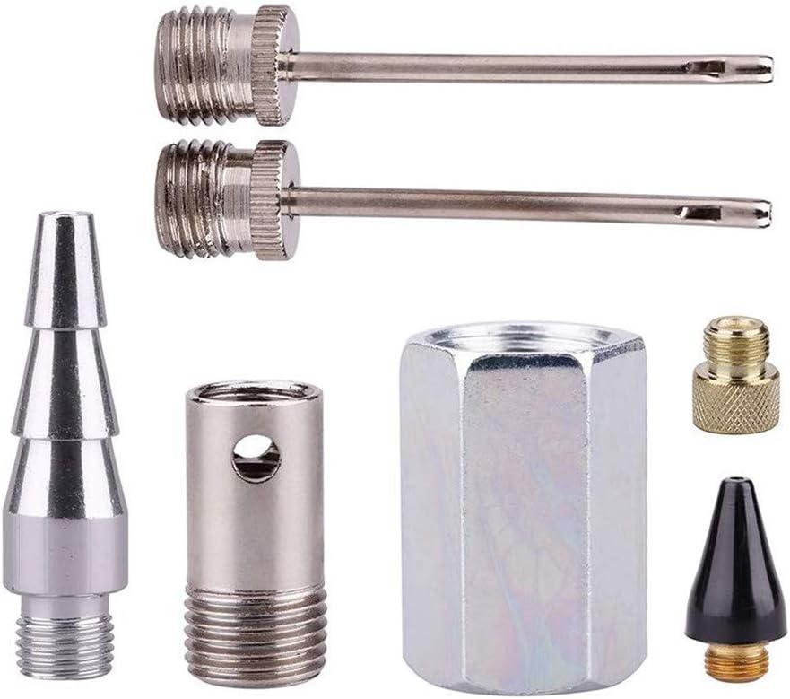 DIYARTS 20Pcs Luftschlauch-Kit Luftkompressor Zubeh/ör 1//4Quick Connect Air Tools Montagetyp Pneumatikwerkzeuge