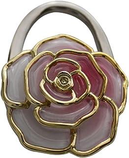 Pétales de Rose-Crochet à sac à main, sac en boîte cadeau Rose pâle avec bordure Plaqué or