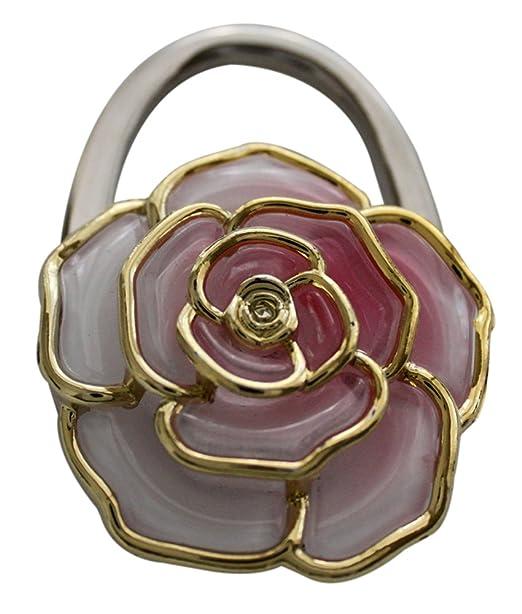 Rose Blutenblatt Handtaschenhalter Geldborse Haken In Geschenk Box