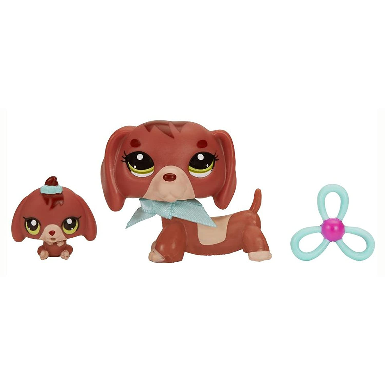 Amazoncom Hasbro Littlest Pet Shop Lps Dachshund Dog Baby Figure
