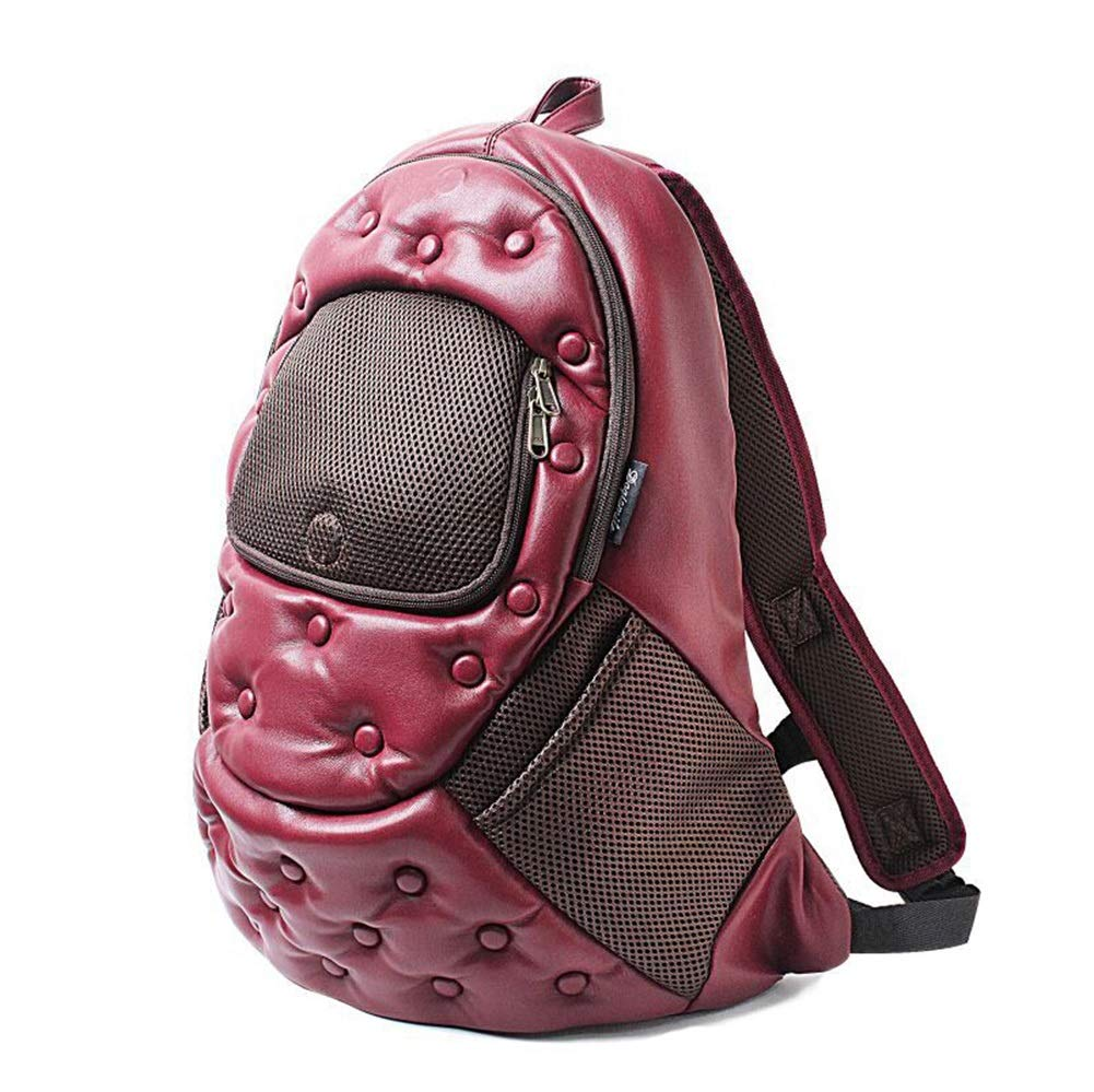 A Pet Supplies pet Bag Pet Backpack, Dog Cat Backpack Carrier Breathable Pet Backpack Suitable Outdoor Travel Suitable Going Out (color   A)