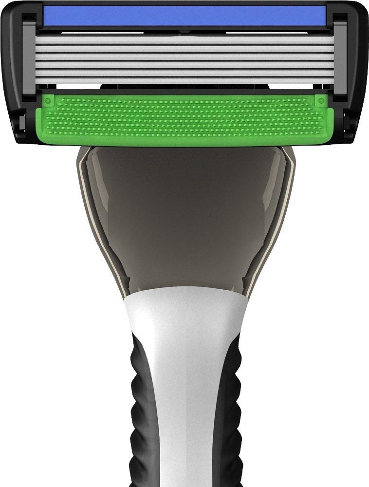PREMIUM RAZORS (24pk + Handle) 6-Blade Shave Kit by SWIPE