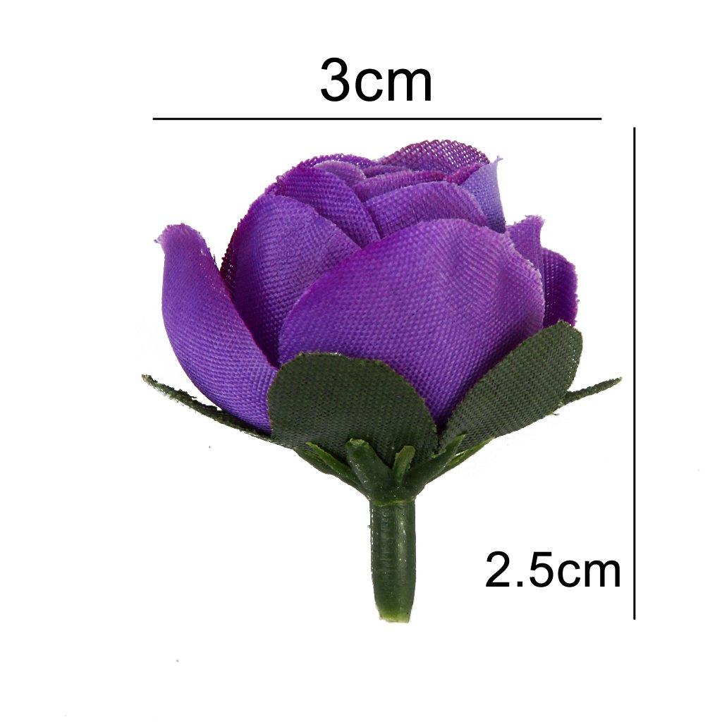 Amazon 50pcs 3cm Artificial Roses Flower Heads Wedding