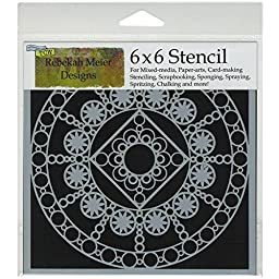 Crafters Workshop Template, 6 by 6-Inch, Byzantine