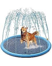 HBDY Splash Water Opblaasbare Speelmat Set Zomer Spray Water Speelgoed splash pad voor kinderen of honden Pet Pool