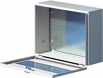 Rittal 1577.500 Acero IP66 Caja eléctrica - Caja para Cuadro eléctrico (300 mm, 155 mm, 400 mm): Amazon.es: Bricolaje y herramientas