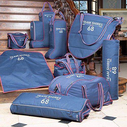 Shires Team–Bolsa para botas de largo, azul marino, talla única azul marino