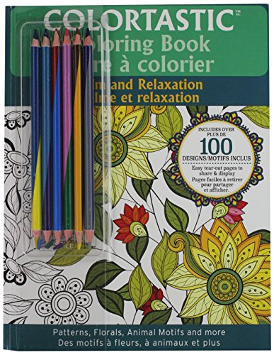 EMSON DIV. OF E. MISHON Colortastic Relaxation Coloring Book