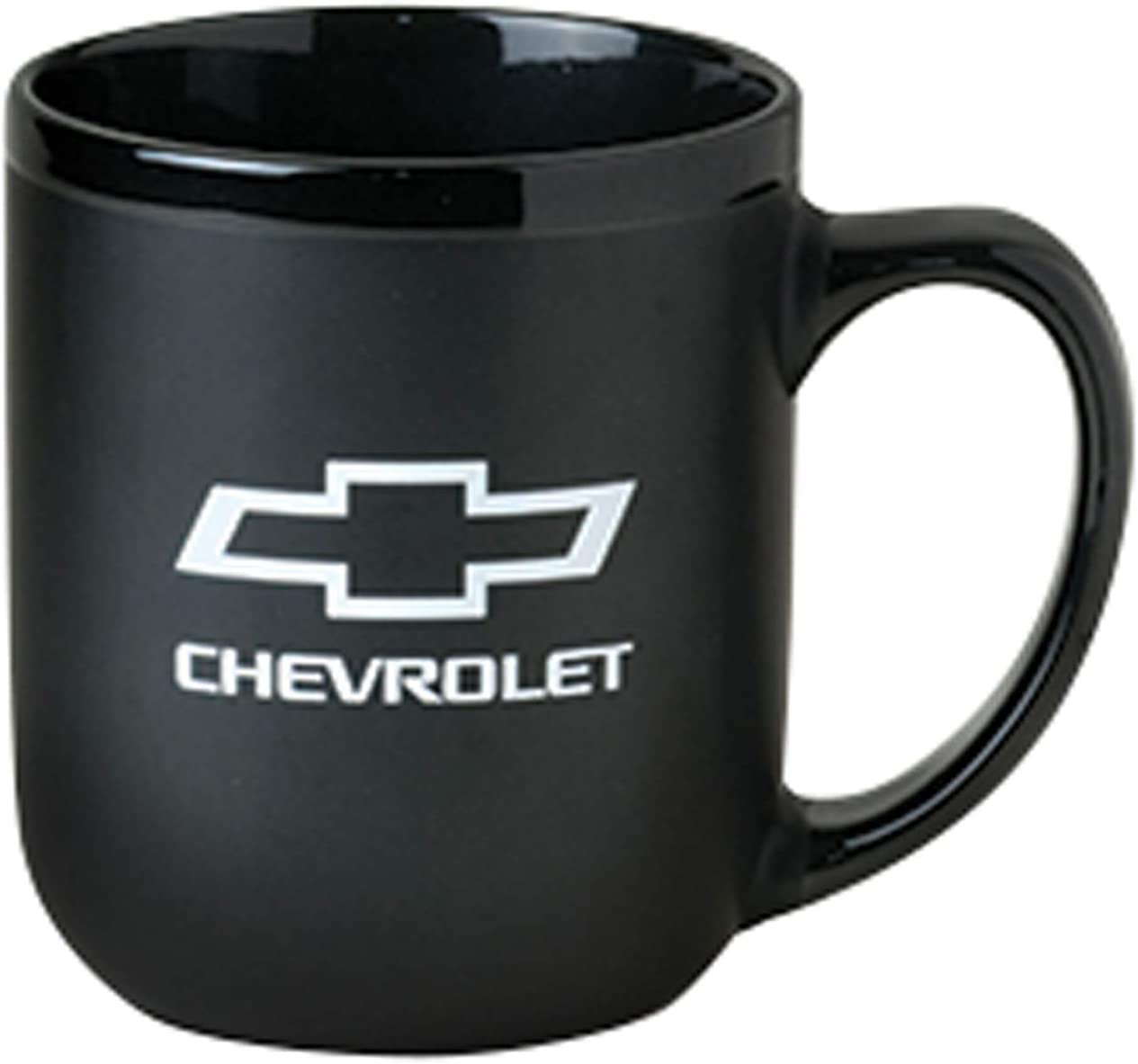 Gregs Automotive Compatible Chevrolet Chevy Mug Black Bundle Includes 1 Mug and 1 Driving Style Decal