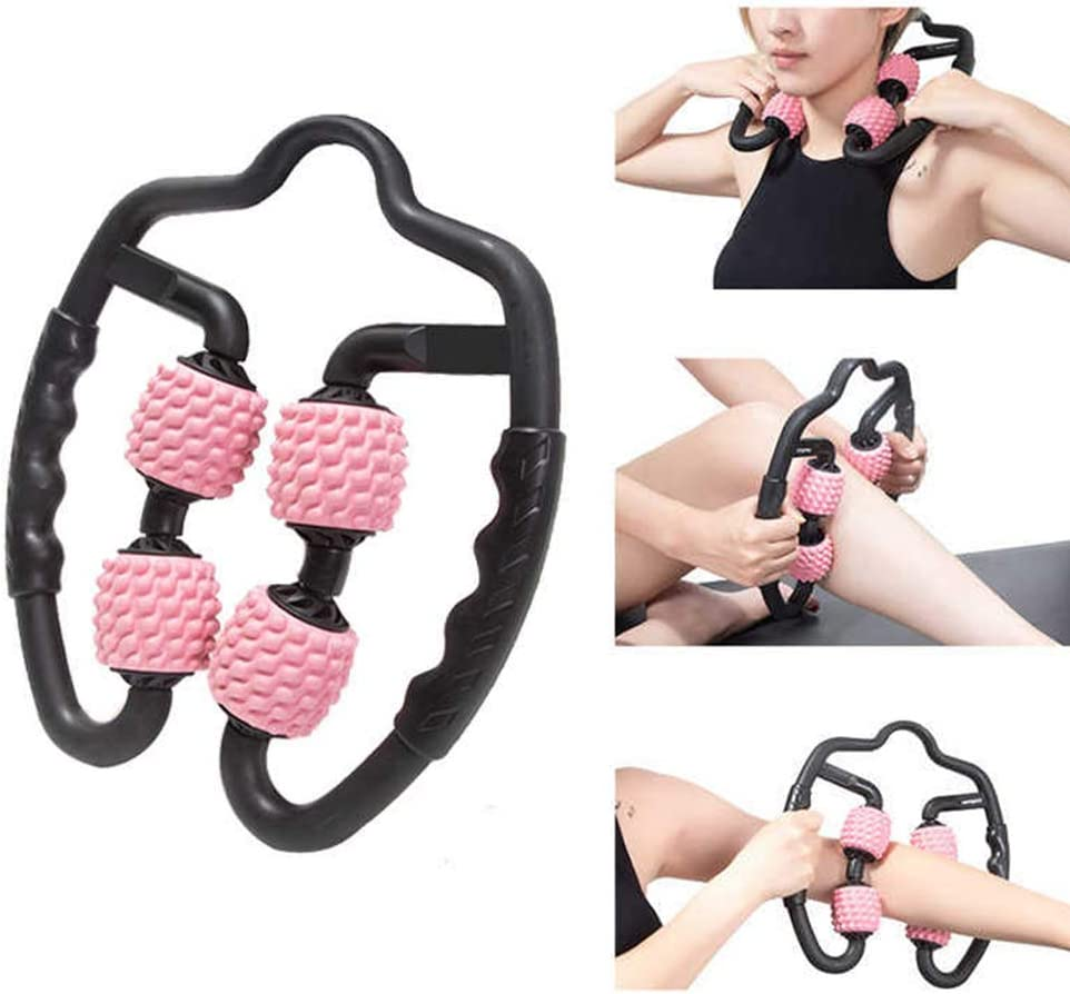 Sykooria Foam Roller Massager Tools,360/° Anti Cellulite Massage Roller for Leg Deep Tissue Muscle Massage After Workout Exercise