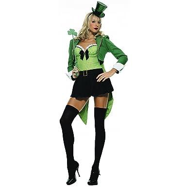 Amazon.com: Clover Leprechaun disfraz para adultos – grande ...