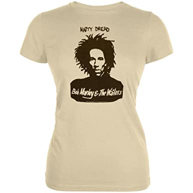 6188d35b772 Bob Marley - Natty Wailers Sheer Juniors T-Shirt
