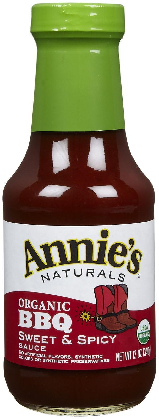 Annie's Naturals Sweet And Spicy BBQ Sauce - 12 Ounces