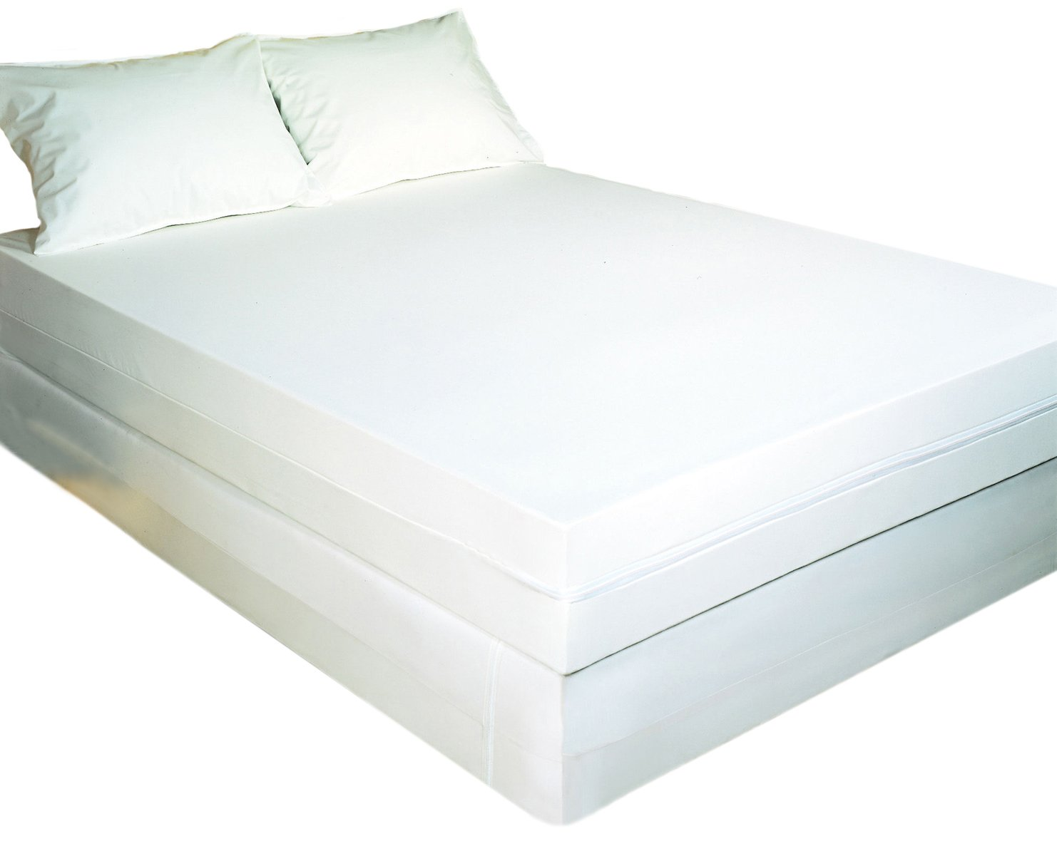 Bargoose 97284Z-16T Bed Bug Solution Certified bed bug Proof 16-Inch Deep California King Zippered mattress Cover