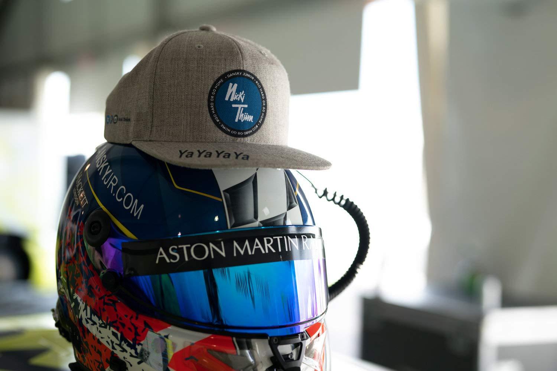 Nicki Thiim Aston Martin Racing Driver - Gorra, diseño del Equipo ...