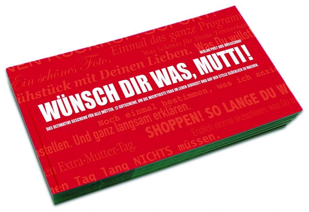 Gutscheinbuch für Mütter | WÜNSCH DIR WAS, MUTTI!: Amazon.de: Küche ...