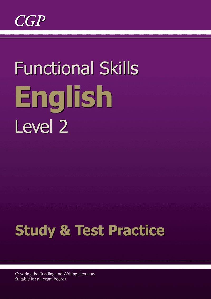 Functional Skills English Level 2 - Study & Test Practice: Amazon co
