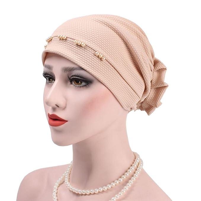 Ibelly Damen Turban Haarausfall Krebs Chemotherapie Kappe Mütze