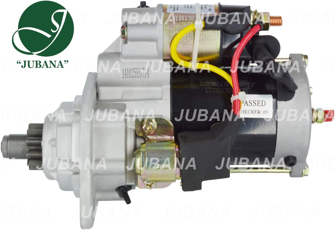 JUBANA 123708503 Starter with Reduction Gear 12V 3,2 kW