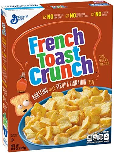 Breakfast Cereal: French Toast Crunch