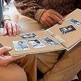 FunSponsor Scrapbook Photo Album with Black Page