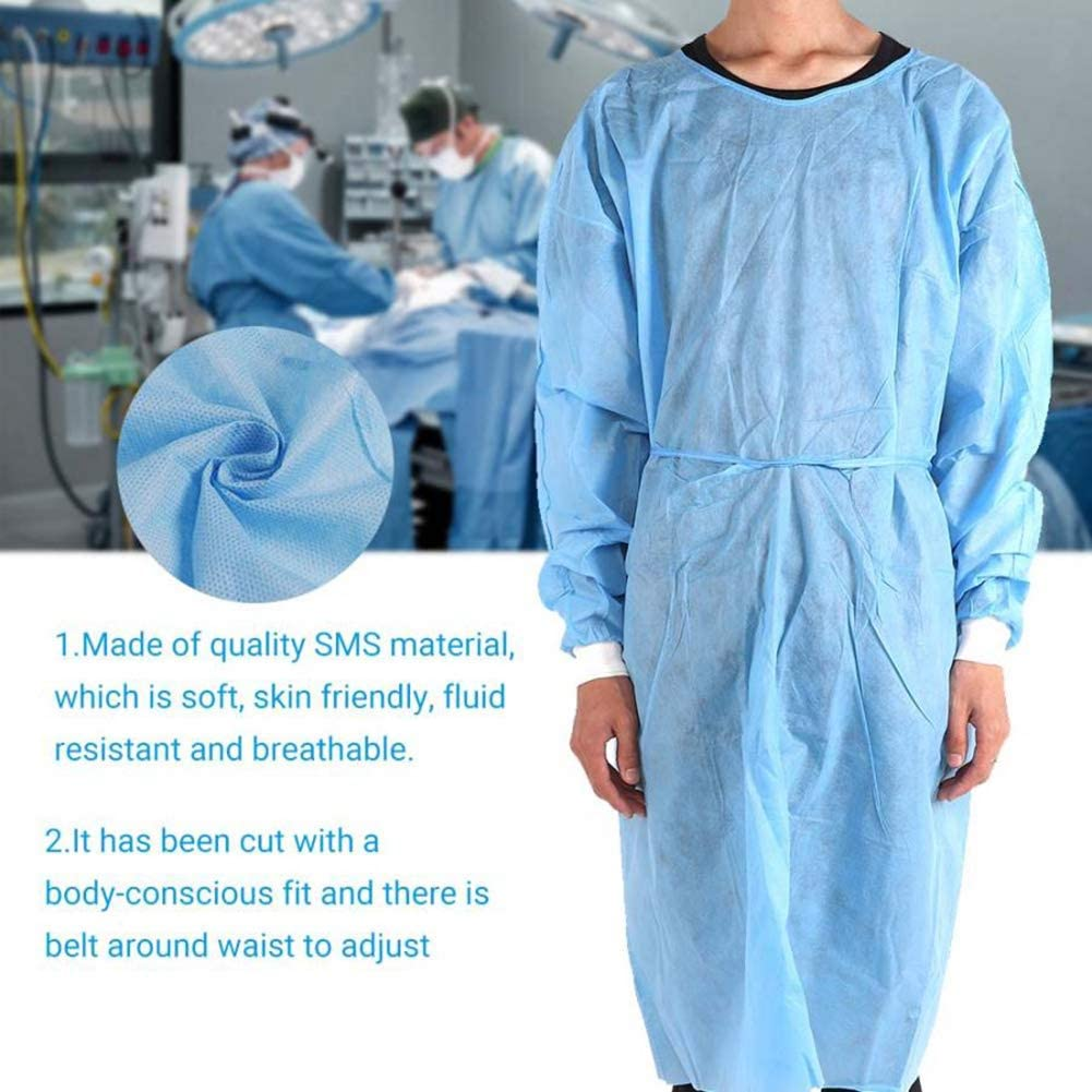 Best 6U Medical Uniforms Disposable Surgical Isolation Gown Waterproof Anti-Rust Medical Operating Clothing Workwear Scrubs Medical