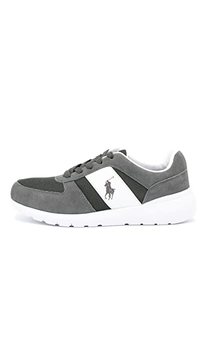 Lauren Cordell 41Amazon Sneakers it Bassa Ralph Polo Uomo Grigio Qhsrdt