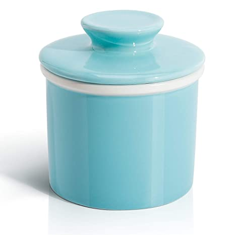 Amazon.com: Sweese Porcelain Butter Keeper Crock ...