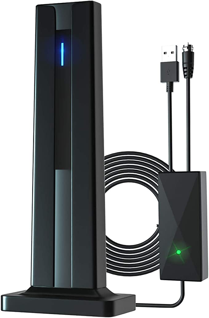 20 DBI High Gain YUDICP 1080P TV-Zimmerantenne ultrad/ünn HDTV Mini DVB-T2 Antenne mit 3,6 m langem Kabel 50 Meilen Digital TV Antenne