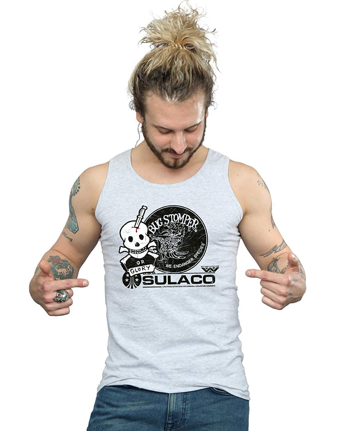 Absolute Cult Alex Chenery Mens Bug Stomper Tank Top