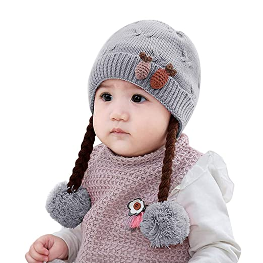 6fdd3e329 Amazon.com  BSGSH Baby Accessories BSGSH Toddler Infant Baby Earflap ...