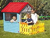 My First Play House Children Indoor Outdoor Wendy Summer with Garden Fence (Age Group: 3+)