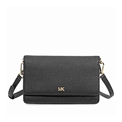 78917857b57a Michael Kors Smartphone Crossbody- Black  Handbags  Amazon.com