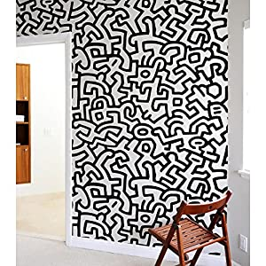 Keith Haring Tiles Wall Sticker Part 57