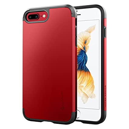 iphone 8 plus case in red