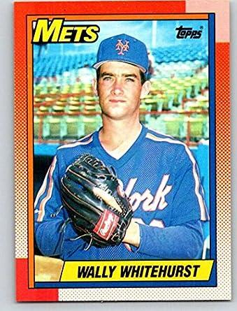 Amazoncom 1990 Topps 719 Wally Whitehurst Mint Baseball