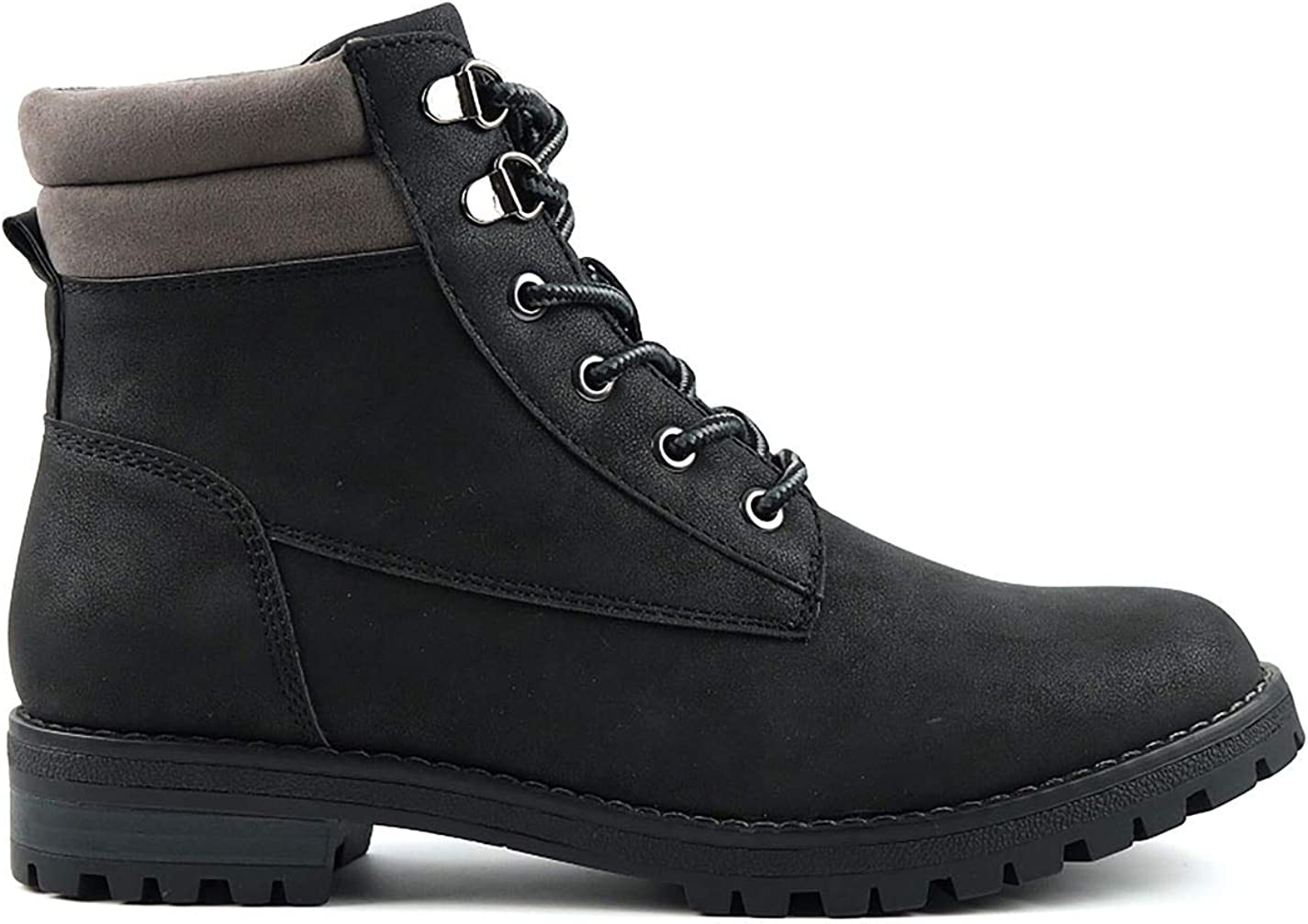 SoulCal Womens Luis Rugged Casual Boots