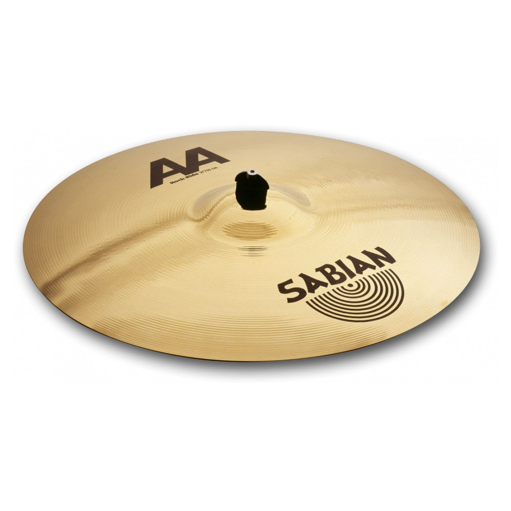 Sabian 22114B 21-Inch AA Rock Ride Cymbal - Brilliant Finish