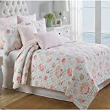 Newrara Seashell Beach Bedding Beach Theme Quilt Set Seashell Bedspread/Patchwork quilt,Queen